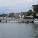 Bootsanlegestelle am Gardasee
