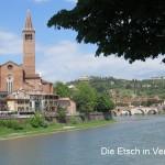 Die Etsch in Verona