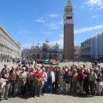 Venedig - auf dem Markusplatz