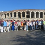 vor der Arena in Verona